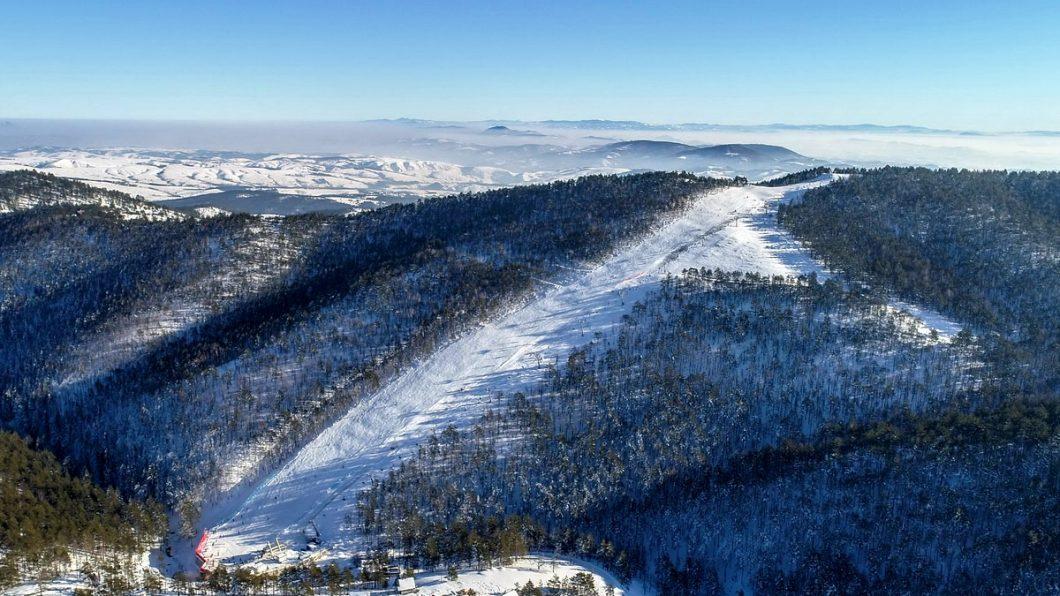 """Nevena Ignjatović - Testiranje ski staze """"Crni vrh"""" - Divčibare Ski Resort"""